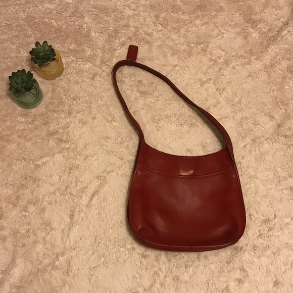 067992b09d0 Coach Bags   Vintage Red Leather Purse   Poshmark